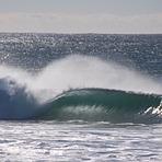 Perfect left hander, Werri Beach