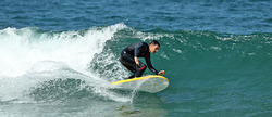 Sunny day, nice wave, that's all I need., El Porto Beach photo