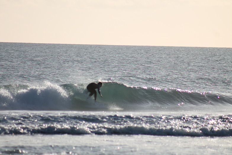A lefty at Secret Harbour