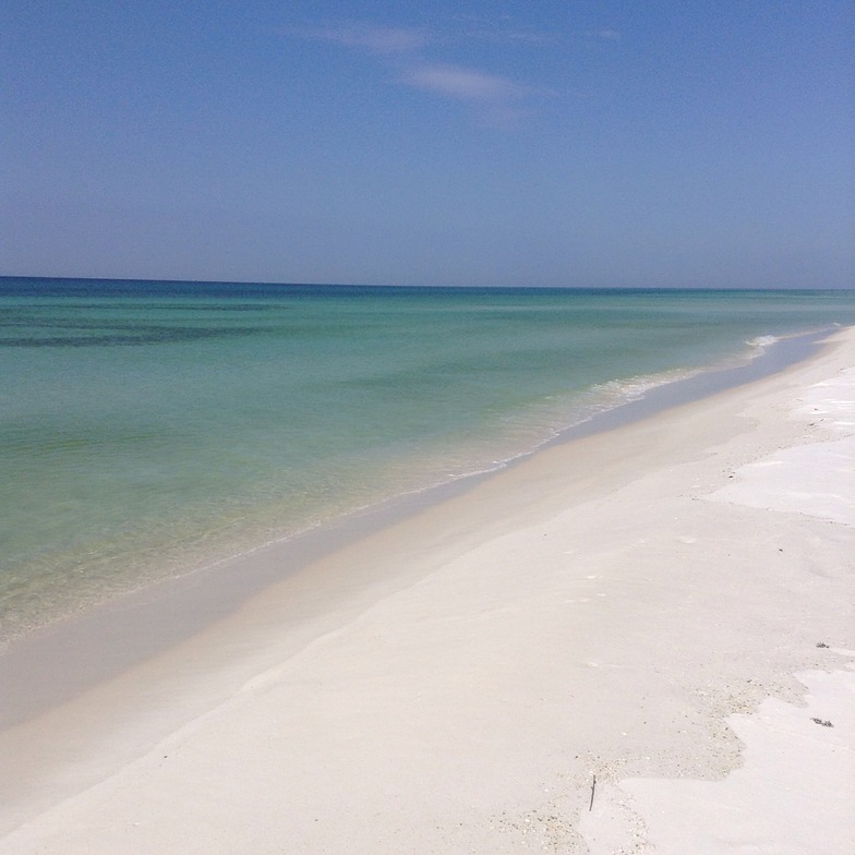 Clear water and white sand, Pensacola beach