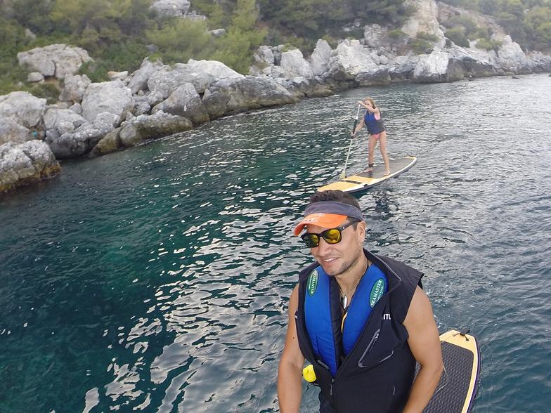 paddle surf, La Herradura