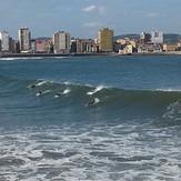 gijon, Playa de San Lorenzo