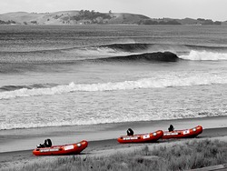 Line up, Pauanui Beach photo