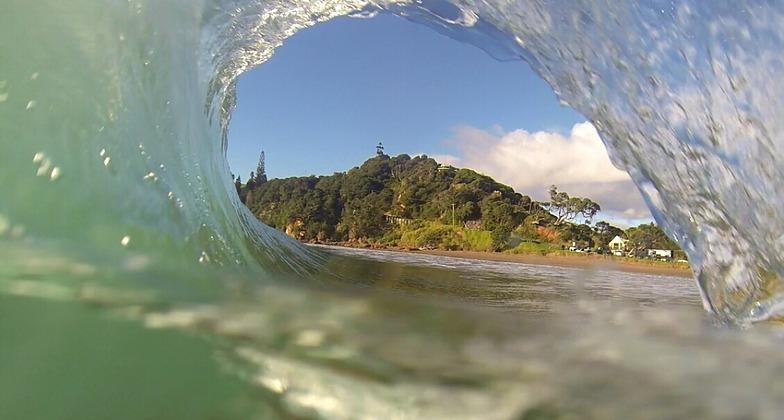 Inside out, Sandy Bay