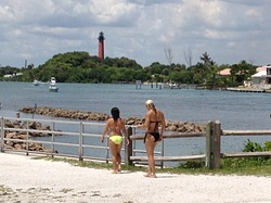Jupiter Inlet North South Side photo