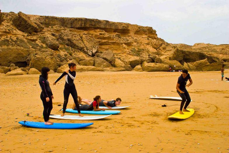Surf Berbere Taghazout Morocco, Tamri-Plage