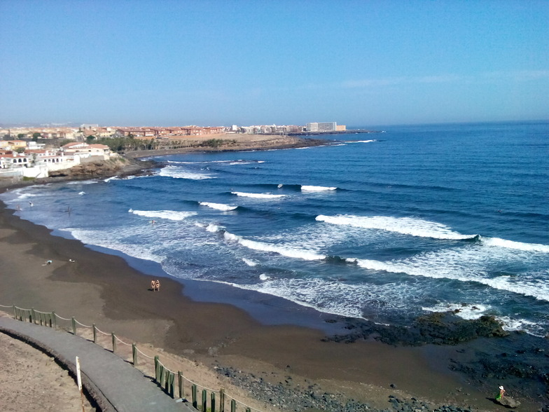 Little glassy, Playa del Hombre