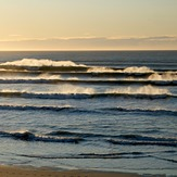 Spring evening at Wharariki, Wharariki Beach