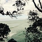 Cloudy day, Waihi Beach