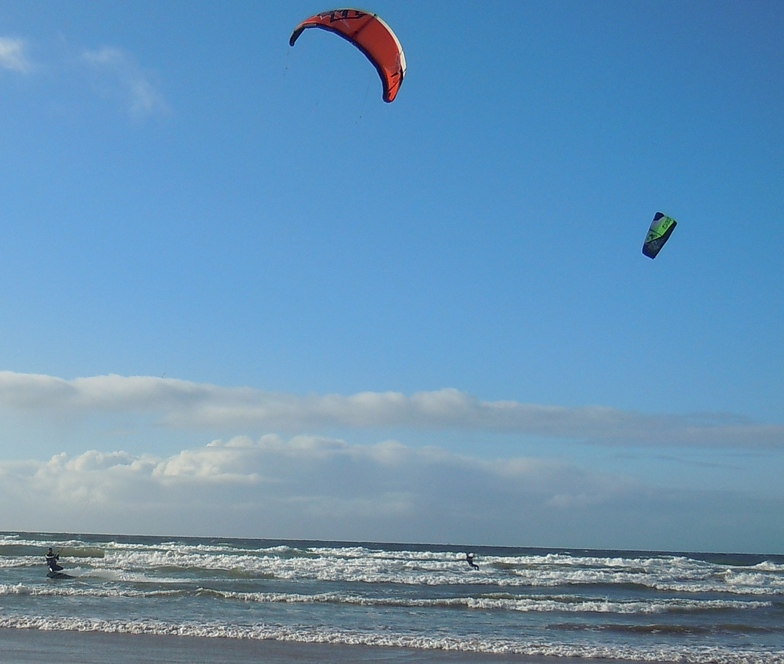 Kite surfers - Portstewart, Portstewart Strand