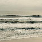 Empty am lineup, Ormond Beach Pier