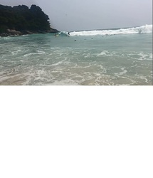South Patong beach photo