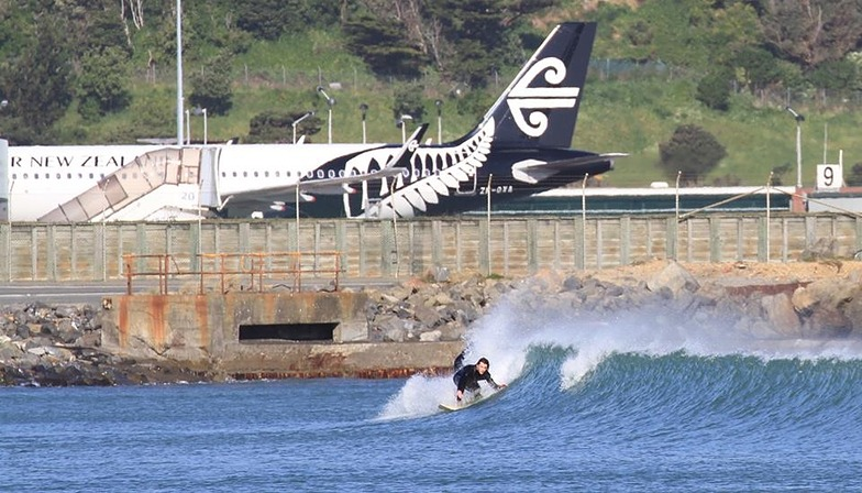 Cleared for Takeoff, Lyall Bay