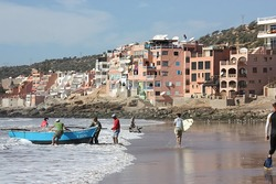 Surf Berbere Taghazout Morocco, Boats Point photo
