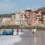 Surf Berbere Taghazout Morocco, Boats Point