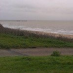 Walton surf south of pier -  NE wind, mid-October, Walton-On-The-Naze