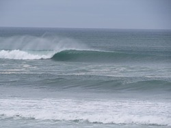 Left Handers Firing, Baylys Beach photo