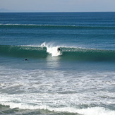Waves and wind, Playa de Gros