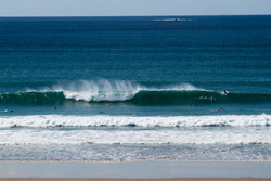 Long period swell, La Palue photo