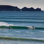 Kerloch, Brittany, Hurricane Igor swell