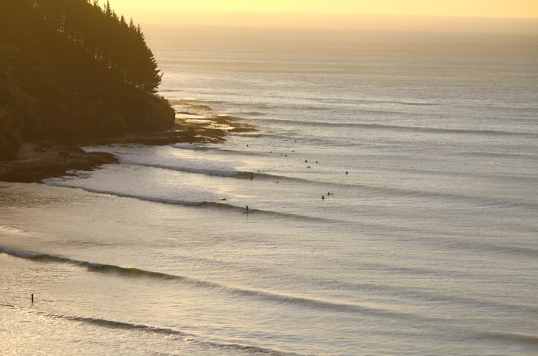 sunset, Shipwrecks Bay-Peaks