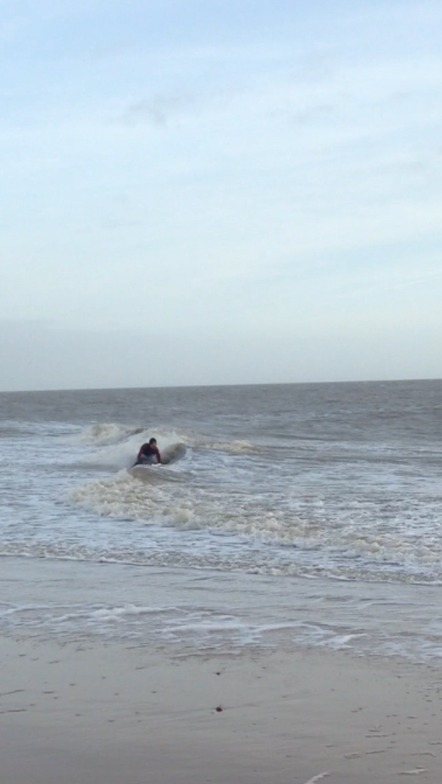 Scraping the Barrel at Frinton-on-sea, Walton-On-The-Naze