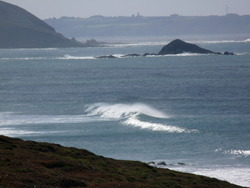 Hurricane Igor Swell at Lost Marc'h, Lostmarc'h photo