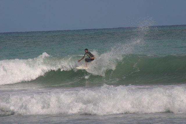 backside - North Coast of the Dominican Republic surf, El Coson