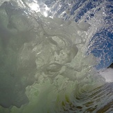 Backwash barrell, Tata Beach