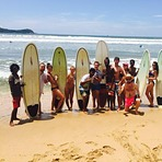 Surf up Dewata Beach