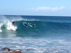 Nice medium size day at Rockys, Rocky Point photo