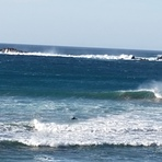 Famara en calma, Playa de Famara