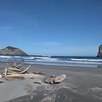 A Frame Peaks, Wharariki Beach