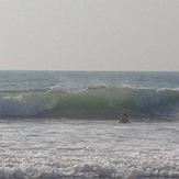 Good surf! But bring a board, Kudle -Beach (Gokarna)