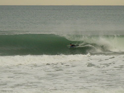 Tube, Wainui Beach - Stockroute photo