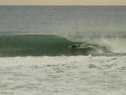 Tube, Wainui Beach - Stockroute photo