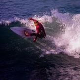 Surfing, San Clemente Pier