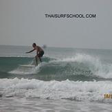 Greg Hodge surfing Rayong, Rayong Mae Ramphung Beach