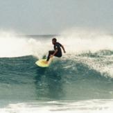 """Pomy en """"El Burro"""" (Glass beach para los Guiris...) 1989"""