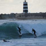 Surf Berbere Peniche Portugal, Molhe Leste