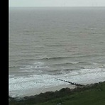 Huge Winter Swell At Frinton, Walton-On-The-Naze