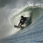 Steve O barrel master, Puerto Sandino