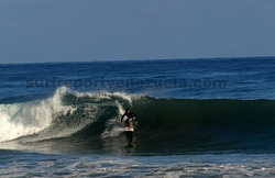 Surfer Carlucho, Point Pelua photo