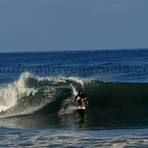 Surfer Carlucho, Point Pelua