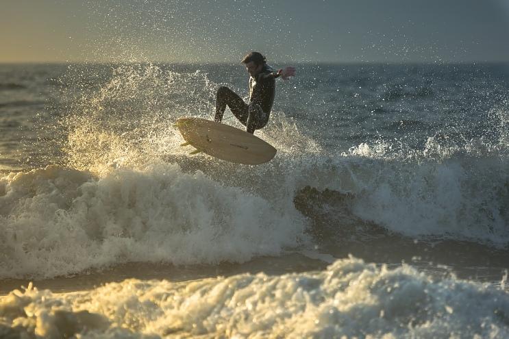 Choppy fun, 13th Ave South Surfside