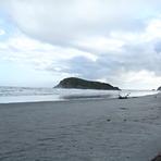 Cloudy morning, Wharariki Beach