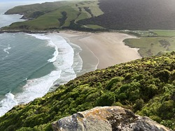 Beautiful Catlins Coast, Purakaunui Bay photo