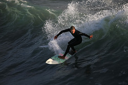 Nice surfing, Oceanside Pier photo