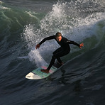 Nice surfing, Oceanside Pier