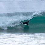 body boarder in the tube, Point Mugu